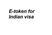 Etoken for Indian VISA from Bangladesh