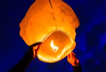 Flying Lanterns | Sky Lanterns | Fanush In Dhaka, Bangladesh