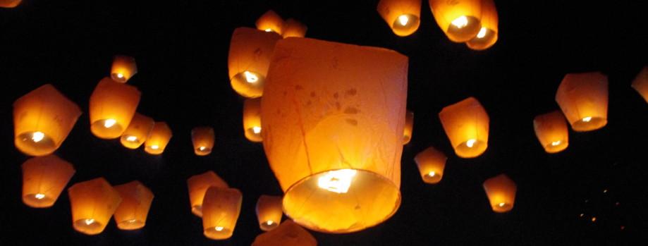 Fanush-Sky Lanterns in Chittagong