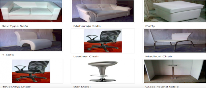 Furniture rental Service in Dhaka