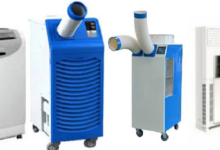 Portable air conditioner rental in Bangladesh