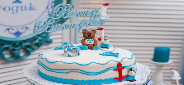 Custom designed luxury cake maker in Bangladesh