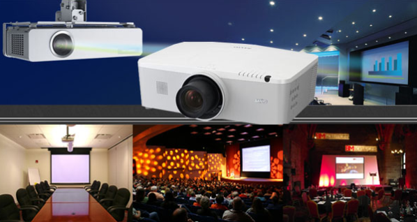 High Quality Projector, LED TV and LED Wall Screen rental in Sylhet